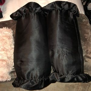 Other - 2 black accent pillows
